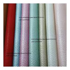 21x29cm artificial leather synthetic leather faux pu leather fabric with pearlized metallic colors embossed litchi sk24 color tell me color number