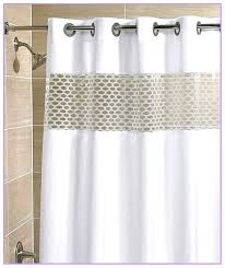 shower curtains with clear top panel basket weave curtain