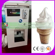 Commercial Ice Vending Machine Interesting RL ICV 48AZ Commercial Automatic Coin Stainless Steel Soft Ice