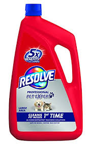 carpet cleaning solution. resolve pet carpet steam cleaner solution, 96 fl oz bottle, 2x concentrate cleaning solution