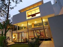 modern houses architecture. Bangalore-Modern-House Modern Houses Architecture V