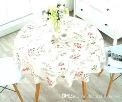large round pvc tablecloths full size of large tablecloths to embroider paper round cloth