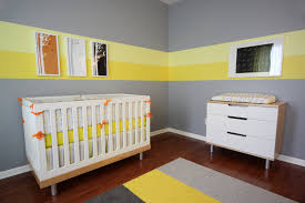 Baby nursery yellow grey gender neutral Pinterest Project Nursery Erics Gray And Yellow Modern Nursery Project Nursery