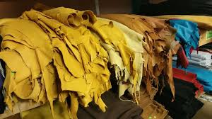 types of leather terminology glossary header