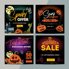 halloween sale flyer royalty free halloween sale clip art vector images