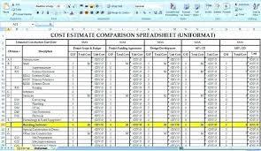 Home Construction Estimator Excel Large Size Of Free Construction Estimate Template Excel