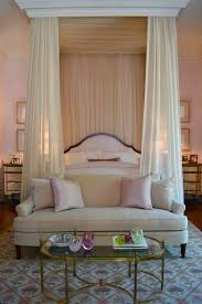 Interesting Drapes Over Bed Photo Ideas ...