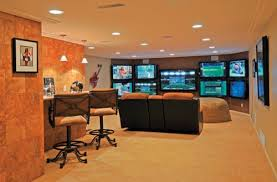 office man cave. If You Like Watching Multiple Games At The Same Time, This Man Cave Is For Office D