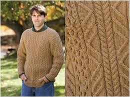 Free Knitting Patterns To Download Mesmerizing Free Knitting Patterns Aran Free Menu48s Cabled Aran Sweater