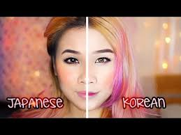 korean makeup vs anese makeup ulzzang vs gyaru