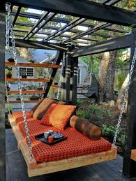view in gallery pallet hanging bed