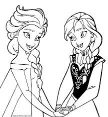 Free Coloring Book Pages Frozen L