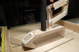 over blade dust collection for table saw zoom pictures