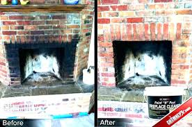 how to clean fireplace bricks fireplace