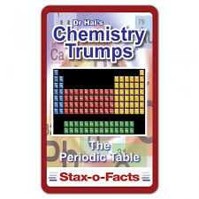 Chemistry Top Trumps Card Game – Periodic table shop