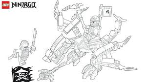 Lego Ninjago Movie Coloring Pages Lloyd Free Jay Snakes Kai Best Of