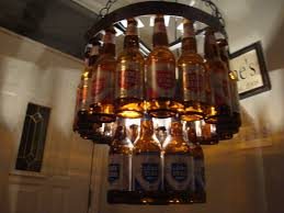 full image for glass bottle chandelier diy 104 unique decoration and diy colorful beer cute