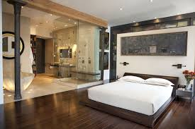 master bedroom with open bathroom. Open Bedroom Bathroom How To Decorate A Living Room And Dining Within Amazing Stunning Master With