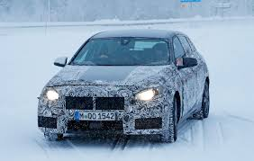 All BMW Models bmw 1 series variants : New front-wheel drive BMW 1-series spied winter testing by CAR ...