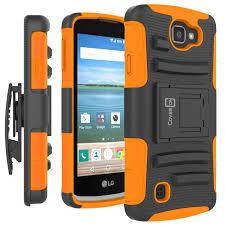 lg zone 3 case. hybrid-combo-belt-clip-holster-kickstand-phone-cover- lg zone 3 case