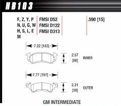 Hawk Performance Hb103m590 Hawk Performance Black Brake