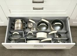 pan storage ideas kitchen cabinets tray dividers for pan storage pans storage ideas