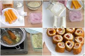Ham And Cheese Bread Rolls Lutong Bahay Recipes
