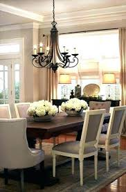 swag dining room light source swag chandelier over dining table ceiling light dilemmas hows large size