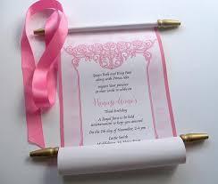 Scroll Birthday Invitations Princess Birthday Invitation Fresh Scroll Birthday Invitations