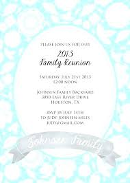 Family Reunion Flyer Templates Free Family Reunion Announcements Templates Arianet Co