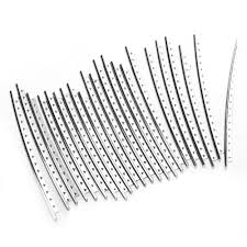 Guitar fingerboard fret wire fingerboard frets 22 pcs electric guitar fret wire silver tone metal 1 set in guitar parts accessories from sports
