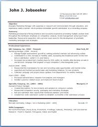 Microsoft Office Free Resume Templates