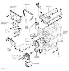 1998 mazda protege serpentine belt routing and timing belt diagrams