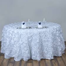 tablecloths white round table covers plastic round tablecloths roses motive with cutrely outstanding white