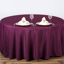 Table Cloth For Round Table 10 90034 Round Polyester Tablecloth Wedding Party Table Linens