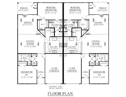 3 bedroom duplex floor plans with garage homes zone