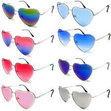 Love <b>Heart</b> Shape Sunglasses <b>Womens Ladies</b> Lolita Fashion ...