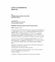 Letter Report Letter Of Transmittal 40 Great Examples Templates Template Lab