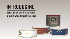 Chalk Paint Products Behr