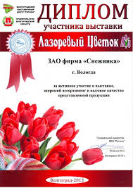 Награды Снежинка Вологодское кружево Диплом Лазоревый цветок Волгоград 2013
