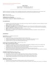 example of general resume