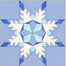 Snowflake Star Template 6 Inch Block   Foundation, Star and Designers & (7) Name: 'Quilting : Snowflake Star Template 6 Inch Block Adamdwight.com
