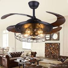 best 42 inch edison light bulb village folding ceiling fans with lights classical loft living room industrial ceiling light fan lamp under 472 62 dhgate