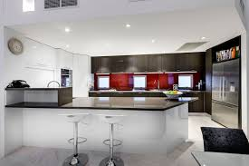 Small Picture Combination Of Impartial And Red Colours In House Interior Design