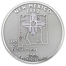 New Mexico Quarter Design New Mexico State Quarter Magnet Ideaman Custom Magnets