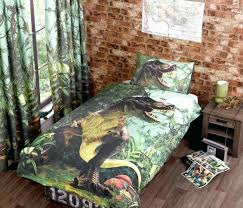 t dinosaur duvet cover and matching curtains world available in single double bed sizes jurassic bedding