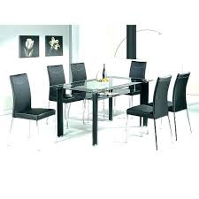 round glass dining table 6 chair dining table set glass dining table and chairs