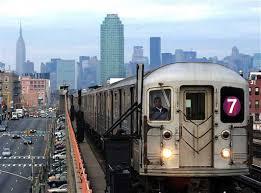 TrenoLinea 7 a NY
