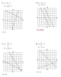 algebra 2 solving linear equations worksheet answers 1 worksheets systems of by graphing works full size