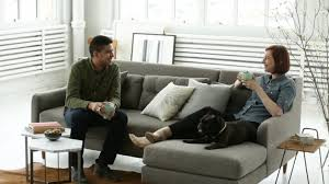 Mid-Century Sofa Design With Modern Comfort   west elm - YouTube